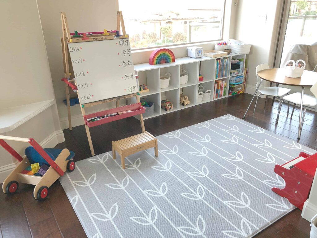 Homeschool tour and organization