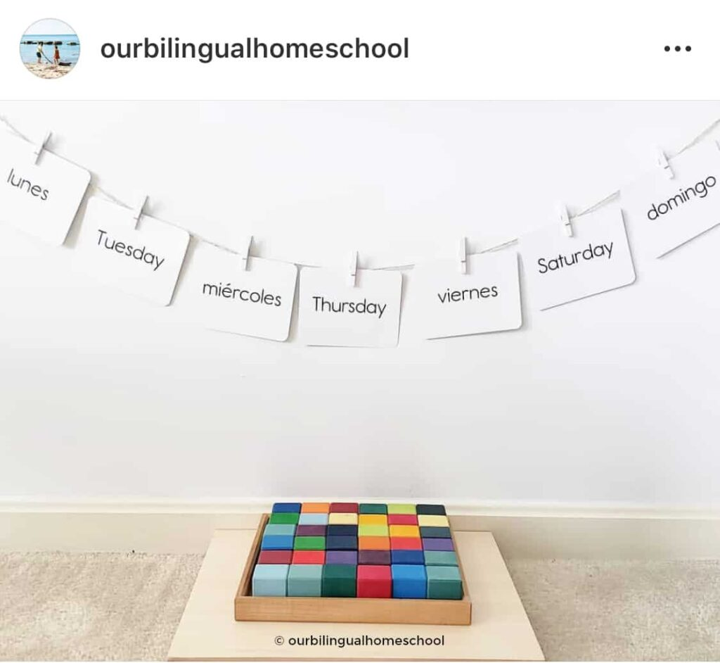 Our Bilingual Homeschool