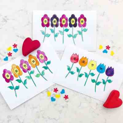 Mother's Day Cards in Simplified and Traditional Chinese