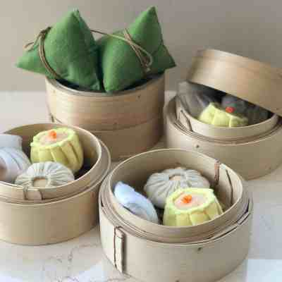 Chinese Play Food: Review of HeartFelt Makan's Realistic, Non-Plastic Toys!