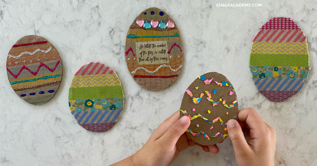 This wreath is by far one of our favorite egg carton crafts. 3 Easy Cardboard Easter Egg Crafts For Kids Chalk Academy