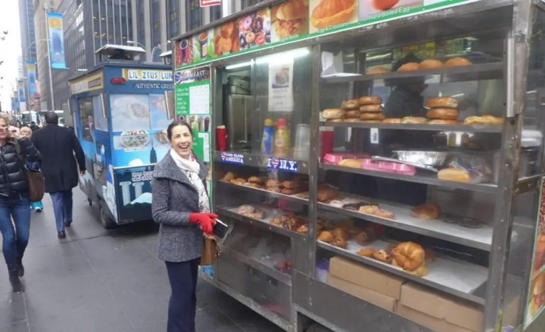 Food stalls new york city