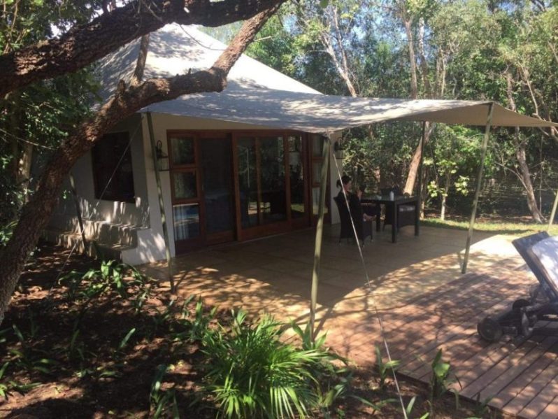 The rooms at Savanna Private Game Reserve