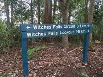 The circuit at Witches Falls