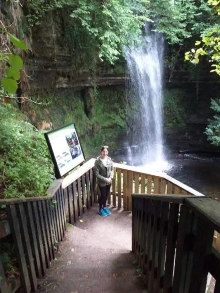 The waterfall at glencar