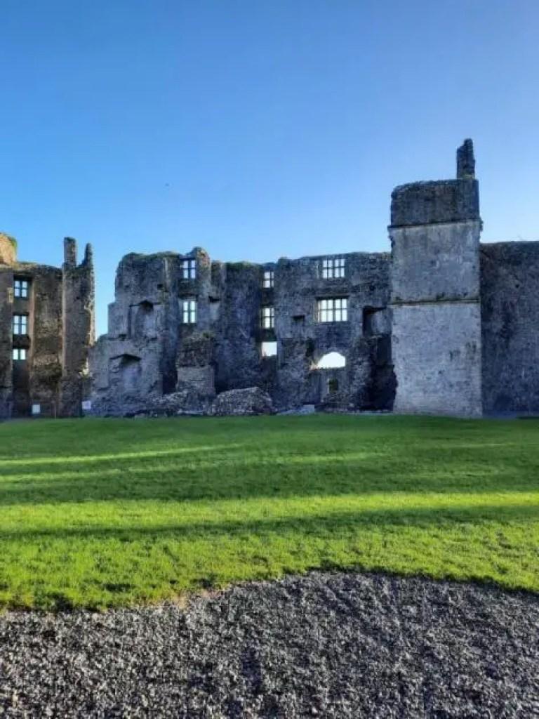 Inside Roscommon castle
