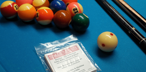 Clean All Your Billiard Equipment Without Using Chemicals!