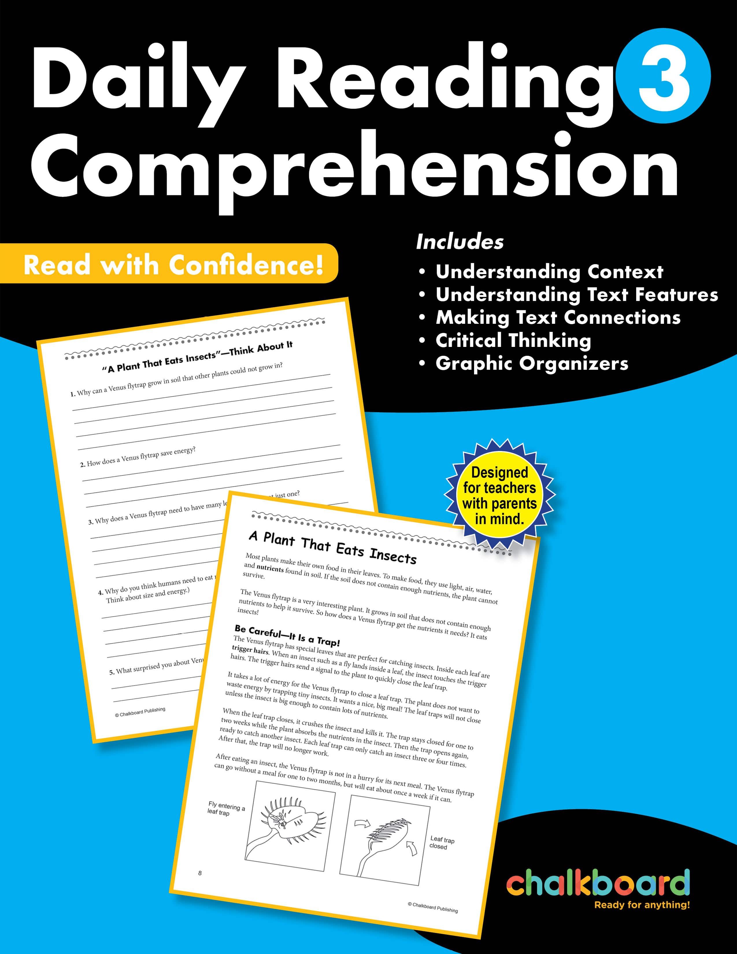 United States Daily Reading Comprehension Grade 3