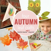 Autumn Crafts: No leaves? No problem!