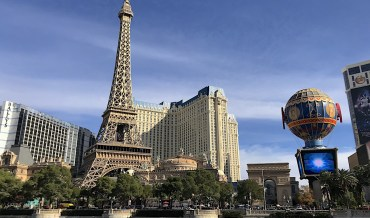 Forget heading into the great outdoors: Holidaymakers are booking cruises and trips to Vegas!