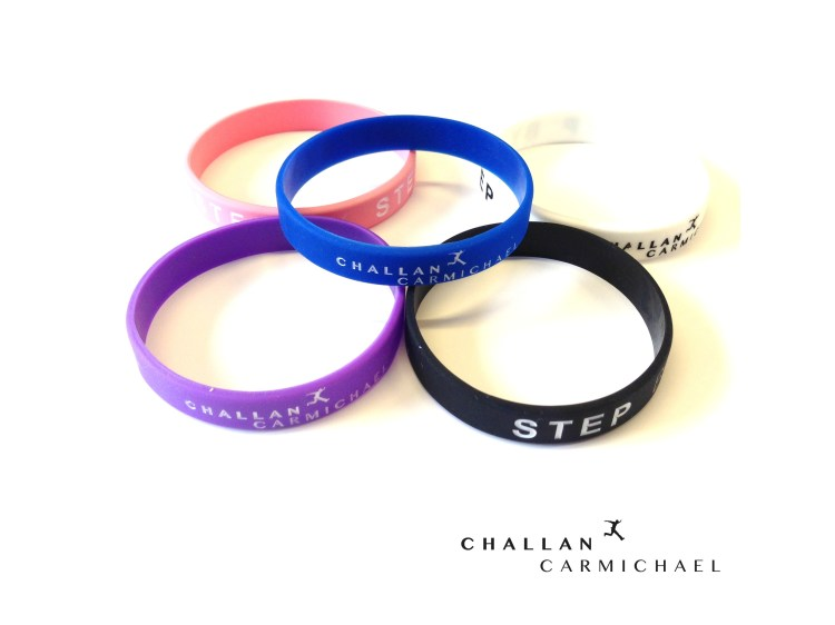 Challan Carmichael - Step By Step Wristband - Set of 5