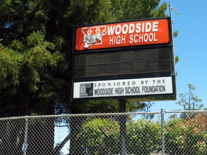 woodside_high_school_billboard