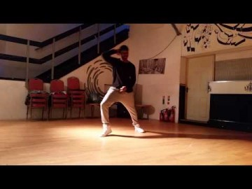 Challan Carmichael Dance Practice b4 Video