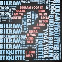 Bikram Yoga Etiquette