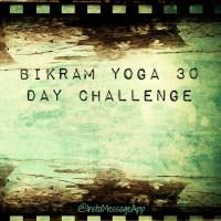 Bikram Yoga 30 Day Challenge: Day #7