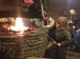 Kiełbaska na ogniu... mmm... lubimy.