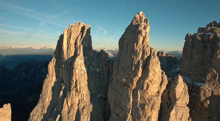 Wspinanie w Dolomitach - Torre Delago
