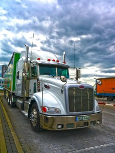 truck, hdr, logistics