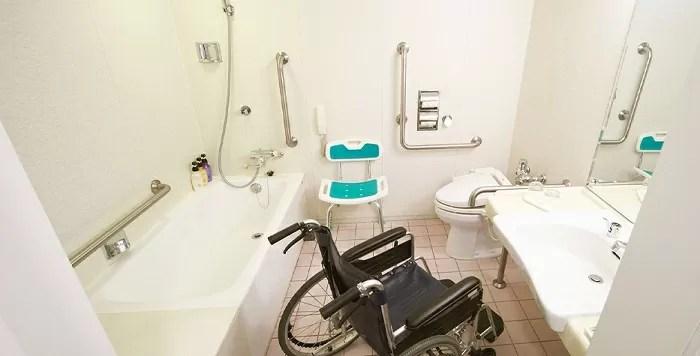 ホテルイースト21東京のユニバーサルルーム バスルーム