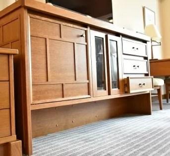 【帝国ホテル東京】バリアフリールームの家具