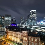 東京駅周辺の夜景