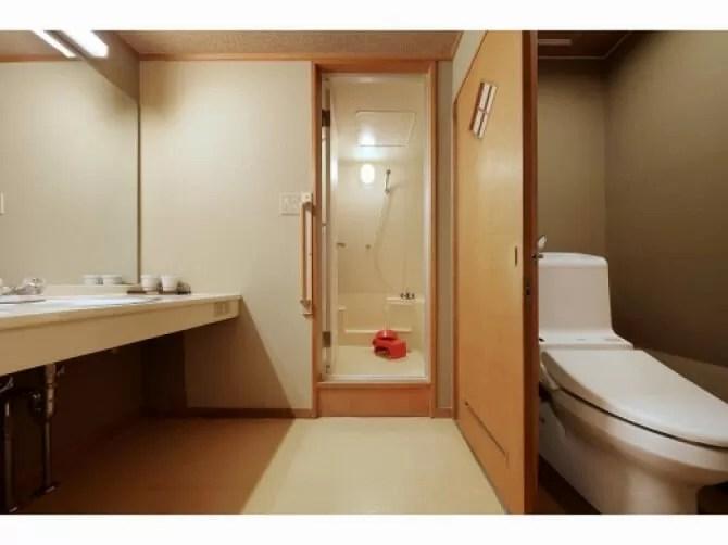 【ホテルサンシャイン鬼怒川】【和洋室】バリアフリータイプ客室(ベッドルームと4.5畳和室とバストイレ付客室・2名定員)