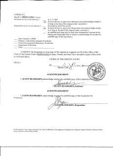 PG 6 of my Injunction against Jason