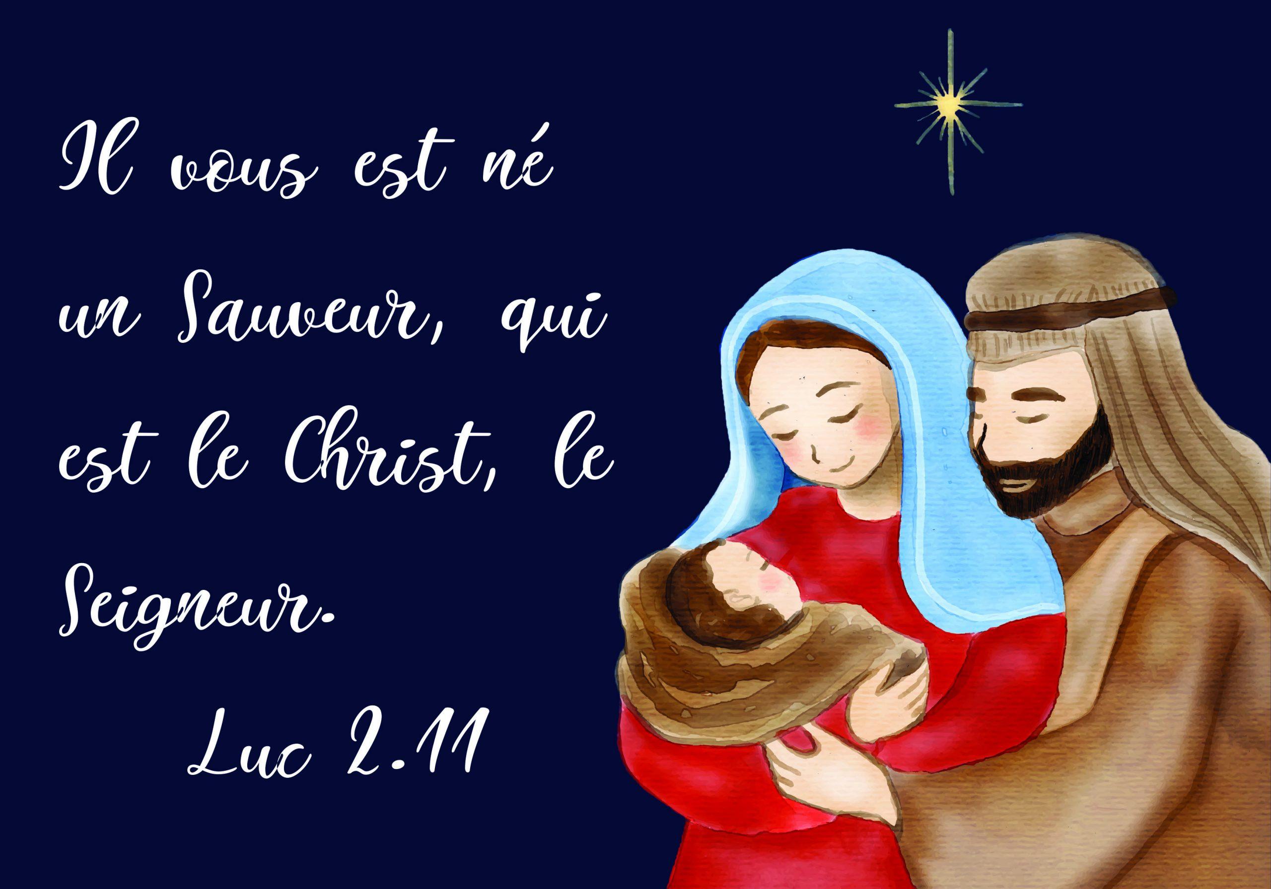 Noël - naissance de Jésus