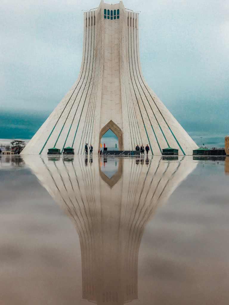 Iran tour Azadi