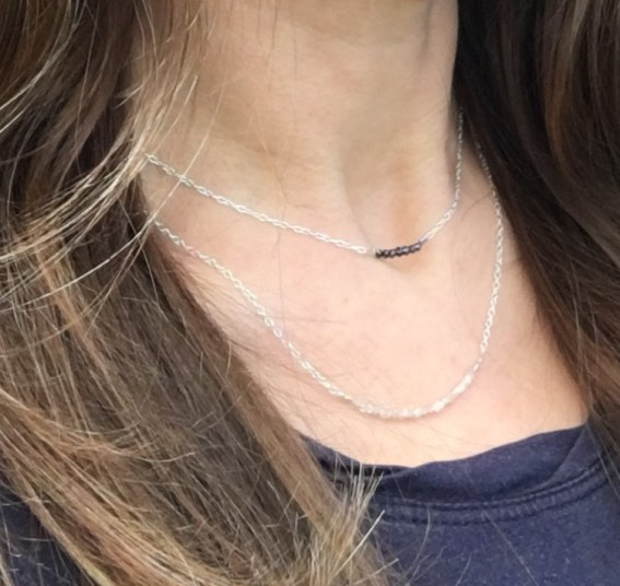 Chalso Diamond necklaces, perfect for layering.