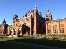 Kelvingrove Art Gallery and Museum, Glasgow. Hosts many great exhibitions, we've seen Egyptian mummies and dinosaurs and we're looking forward to visiting The Art of Comics exhibition this Spring.