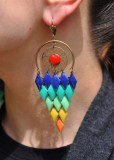 Un perroquet aux oreilles, joliiiiii