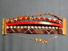 bracelets tartan