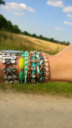 mon beau bracelet d'été
