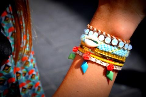 mon bracelet de cet été, que j'adoore !