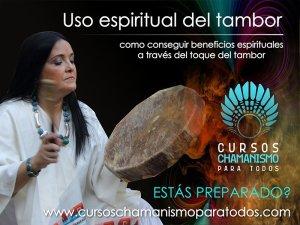 Uso espiritual del tambor