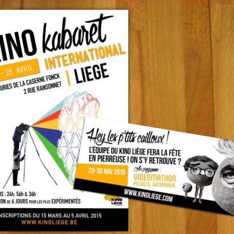 Affiche et flyers Kino Cabaret