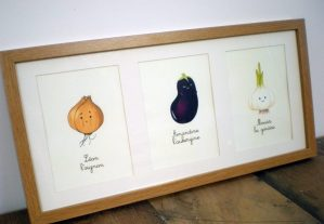 Illustrations de légumes