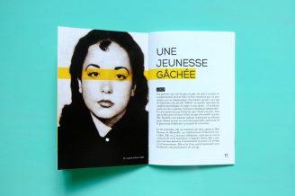 Brochure sur Albertine Sarrazin