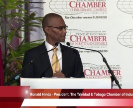 The T & T Chamber's President Speech for The Annual Business Luncheon 2018