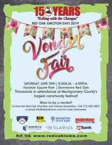 Red Oak Junction Days Vendor Fair
