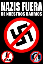pegata nazis fuera