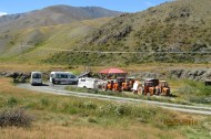 Lunch break at Molesworth Track