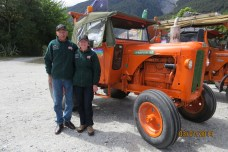 Ted & Jan with their trusty tractor