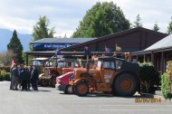 First tractors arrive at Te Anua
