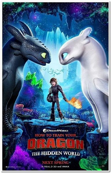 HOW TO TRAIN YOUR DRAGON THE HIDDEN WORLD THE IMAX 3D