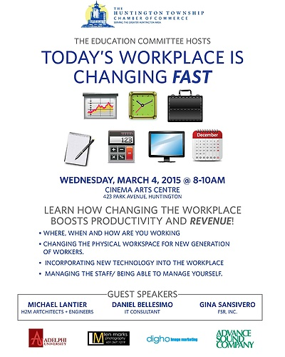 Education Seminar-Today's Workplace is Changing Fast - Mar ...