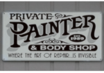 Private Painter & Body Shop Logo
