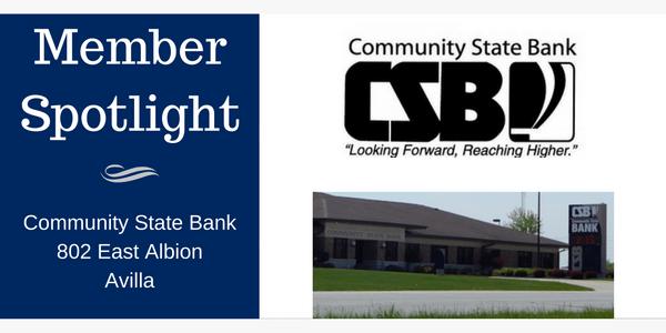 Community State Bank: Members Spotlight