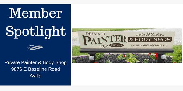 Member Spotlight: Private Painter & Body Shop